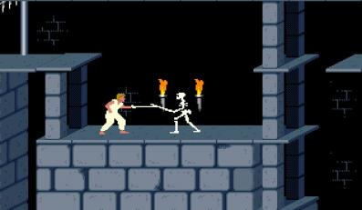 "Screen z gry ""Prince of Persia"""