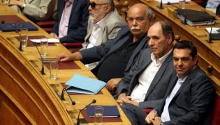 Debata w greckim parlamencie