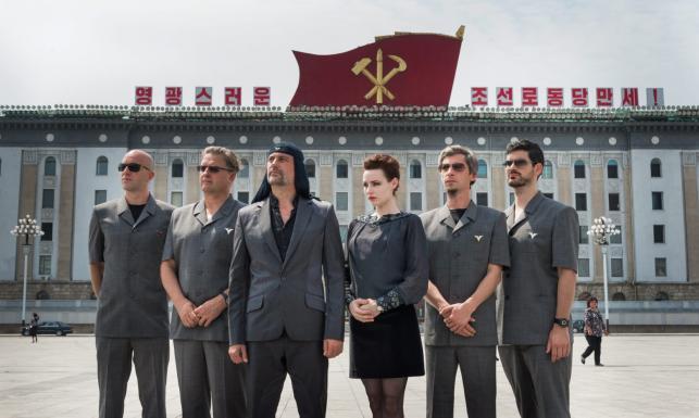 Laibach z wizytą u Kima. Legendarna formacja zagrała w Korei Północnej [ZDJĘCIA]