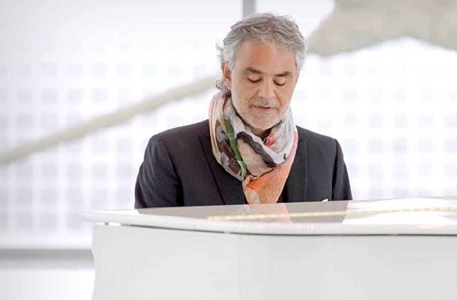 Andrea Bocelli śpiewa największe filmowe przeboje