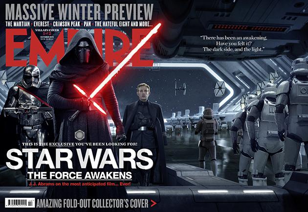 """""""Gwiezdne wojny: Przebudzenie mocy"""": Bohaterowie i antybohaterowie na okładce"""