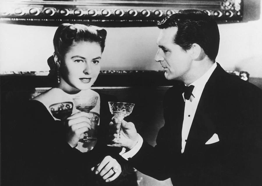 """Ingrid Bergman i Cary Grant w """"Osławionej"""""""