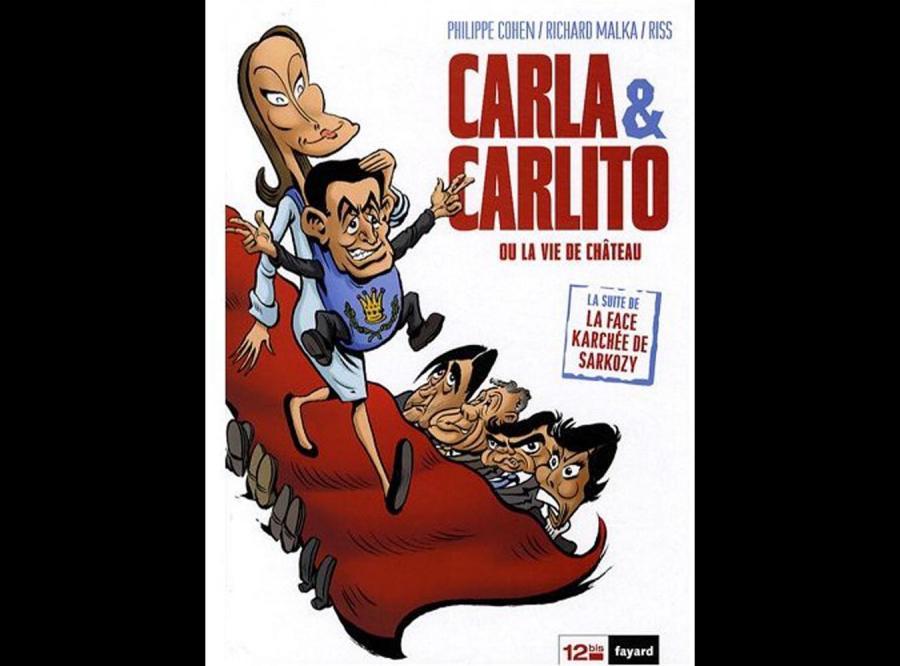 Bruni i Sarkozy bohaterami komiksu