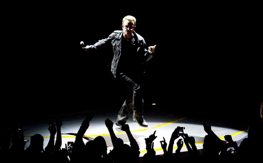 "U2 promują na żywo album ""Songs of Innocence"""