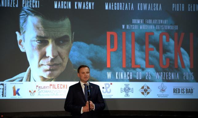 Prezydent Duda na premierze filmu \
