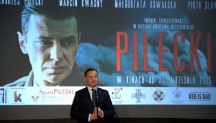 """Wystąpienie prezydenta Andrzeja Dudy przed pokazem filmu """"Pilecki"""""""