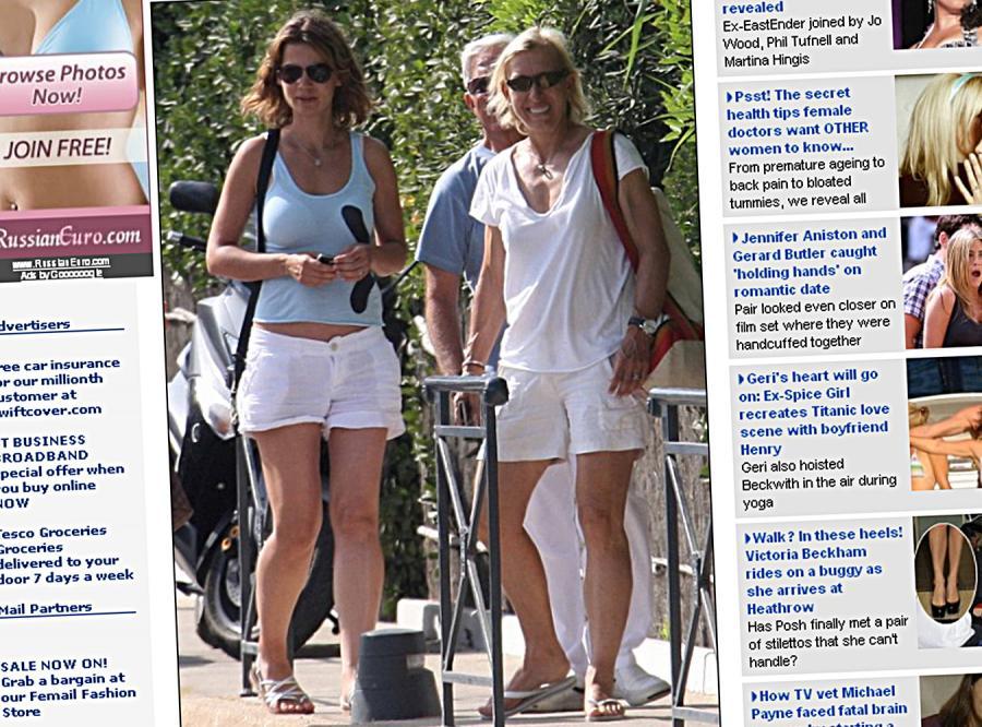 52-letnia gwiazda tenisa  ujawniła tożsamość swojej kochanki