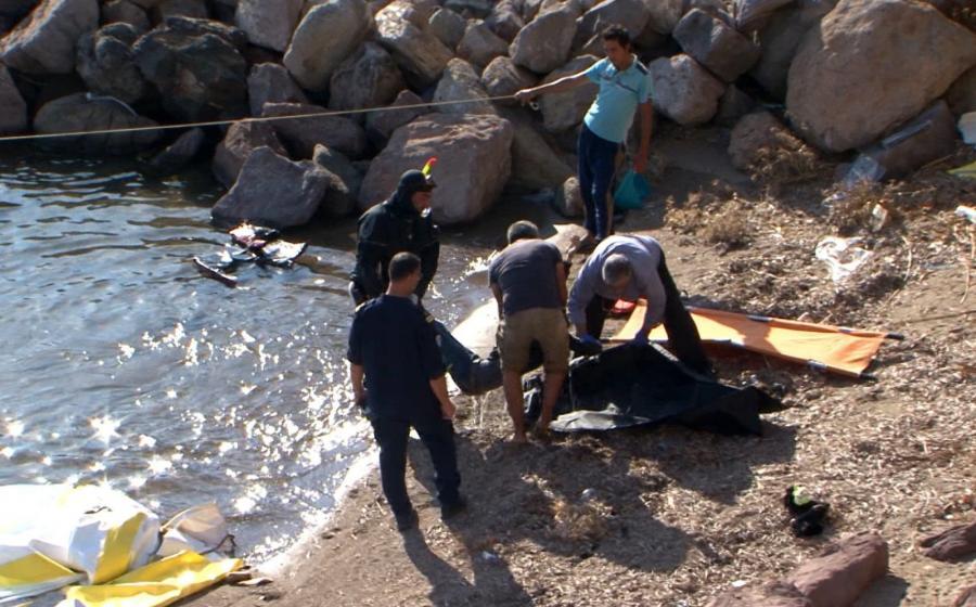 Tragedia na morzu w pobliżu Lesbos. Czworo dzieci utonęło