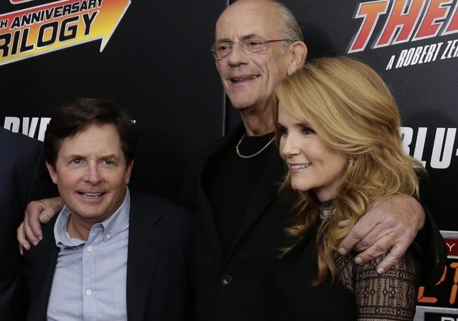 Michael J. Fox, Christopher Lloyd i Lea Thompson