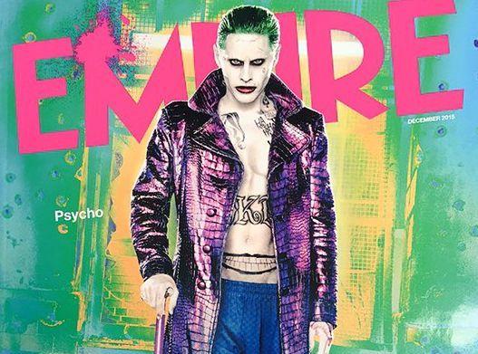 Jared Leto jako Joker na okładce \