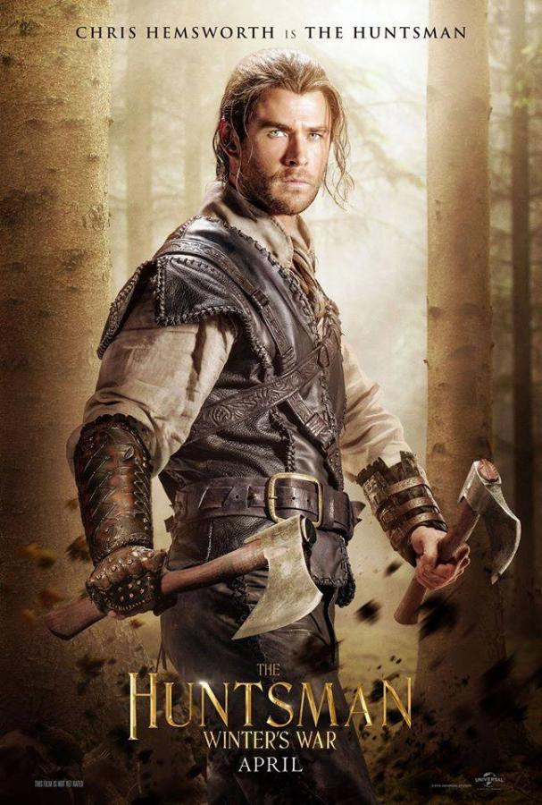 Chris Hemsworth jako Łowca