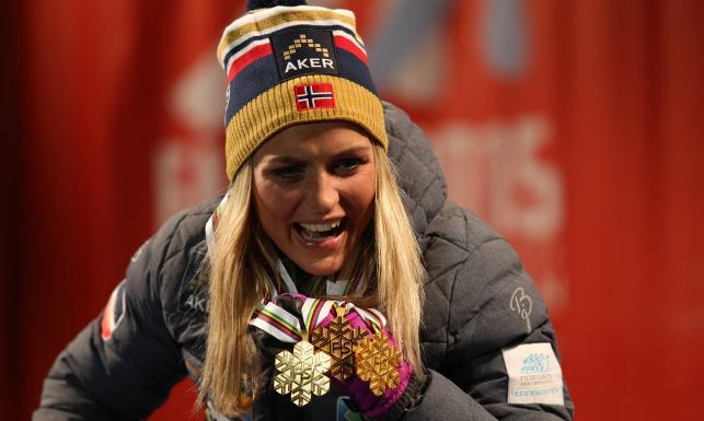 Therese Johaug najseksowniejszą kobietą w Norwegii. ZDJĘCIA