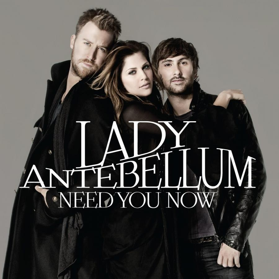 "6. ""NEED YOU NOW"" Lady Antebellum – 4.089.000"
