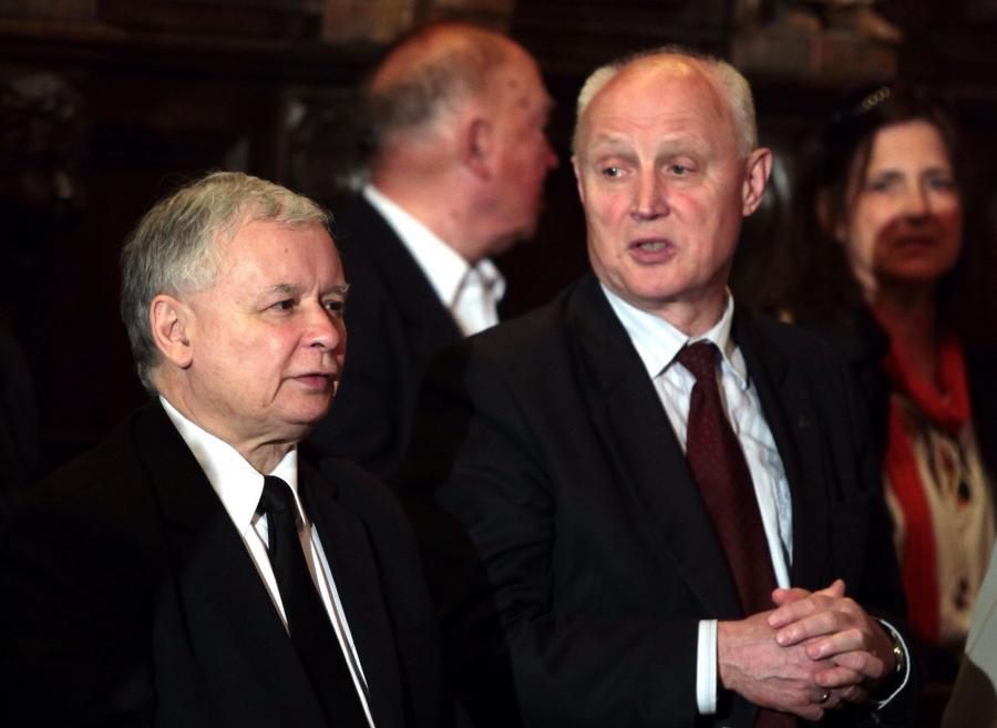 Jarosław Kaczyński i Wojciech Jasiński