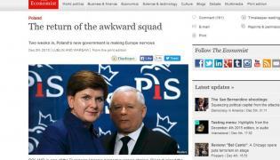 """""""The Economist"""" o polskim rządzie: Powrót kłopotliwej ekipy"""