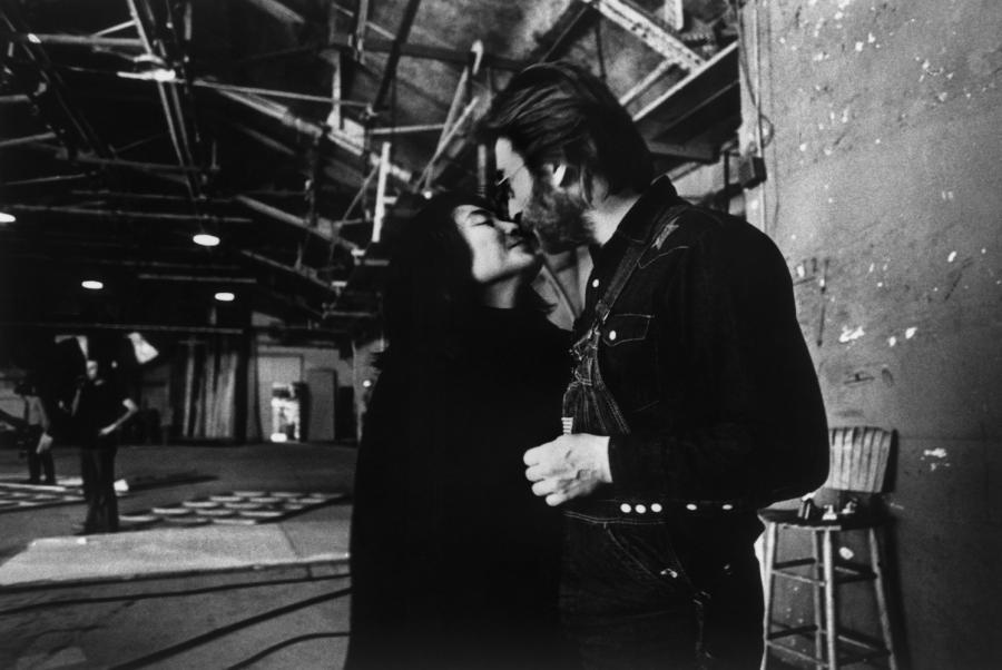 John Lennon i Yoko Ono w 1972 roku