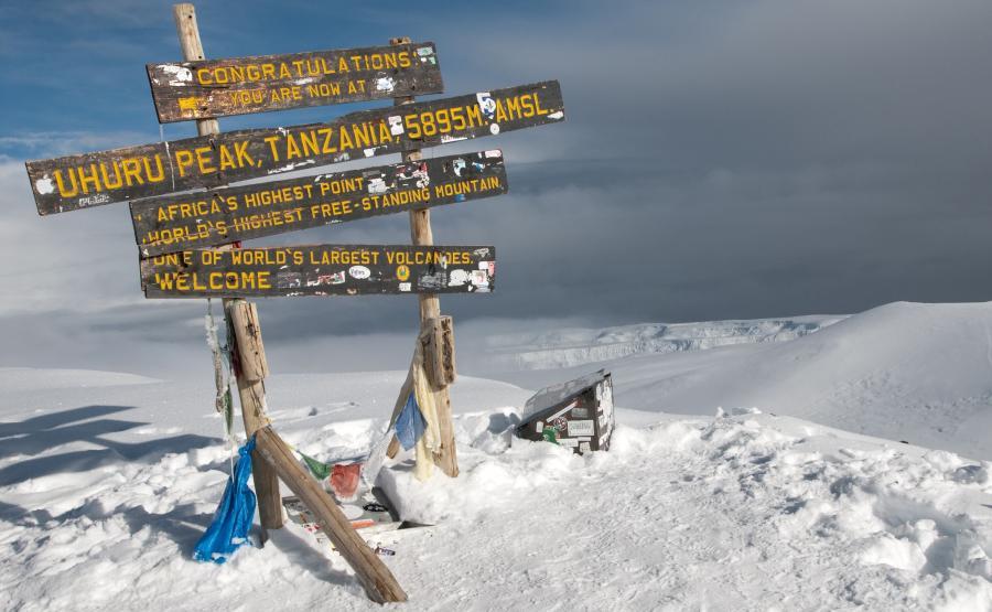 Topniejące Kilimandżaro