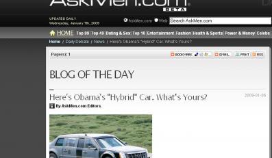 Oto limuzyna nowego prezydenta