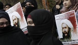 Protesty szyitów przeciwko egzekucji szejka Nimra al-Nimra