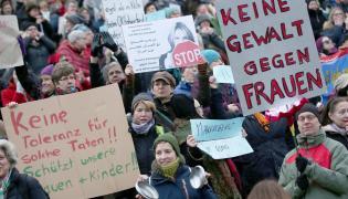 Demonstracja w Kolonii