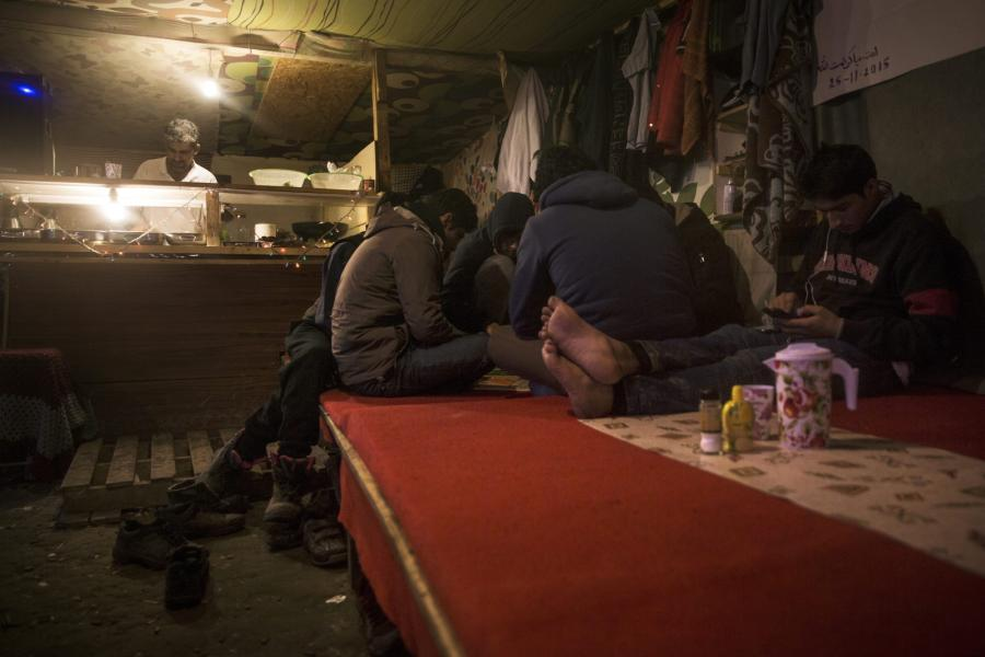 Obóz dla uchodźców w Calais