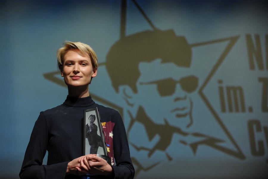 Agnieszka Żulewska otrzymała Nagrodę im. Zbyszka Cybulskiego za rolę w filmie \