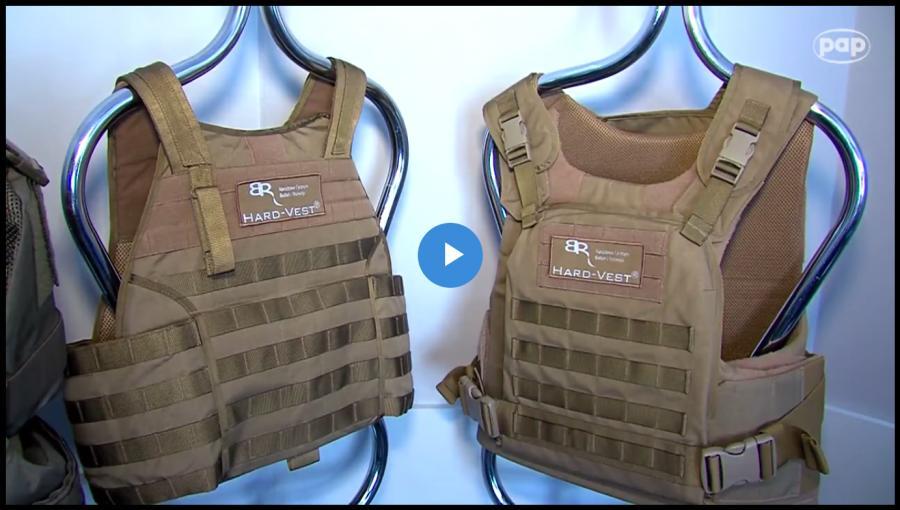 kamizelki chroniące przed bronią maszynową i snajperską