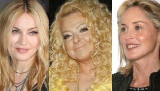 Madonna, Magda Gessler, Sharon Stone