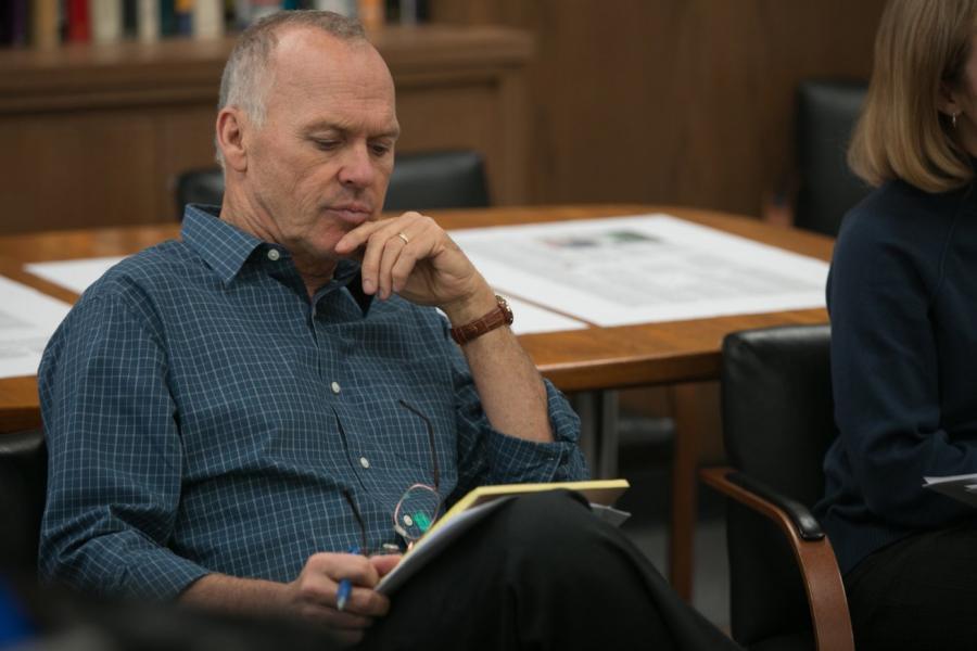 "Michael Keaton w filmie ""Spotlight"""