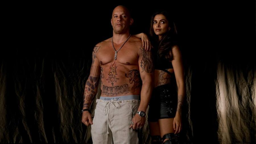 Vin Diesel z hinduską pięknością Deepika Padukone