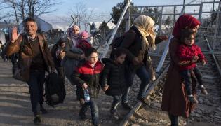 Uchodźcy na granicy grecko-macedońskiej
