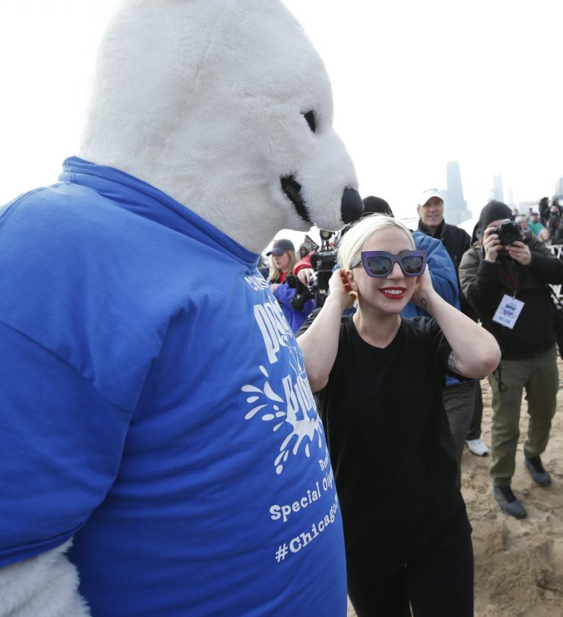 Lady Gaga na rzecz paraolimpiady w Chicago