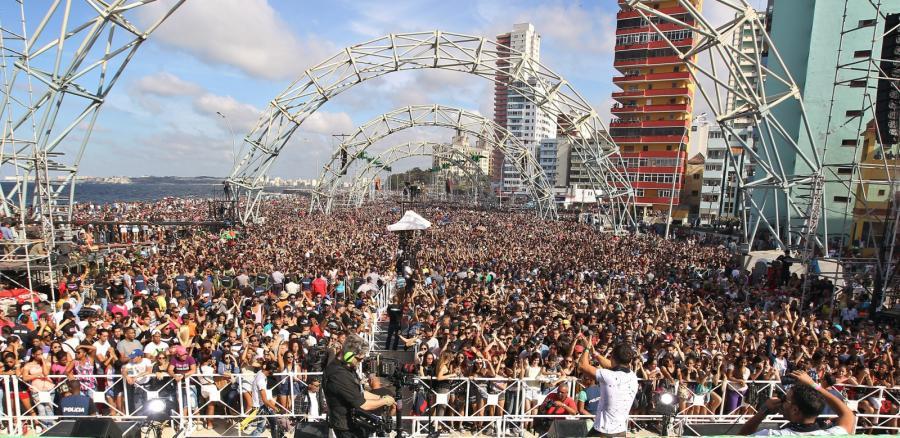 Koncert Major Lazer w Hawanie