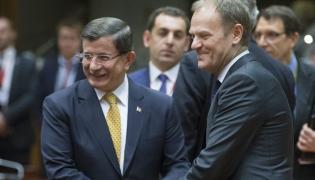 Ahmet Davutoglu i Donald Tusk