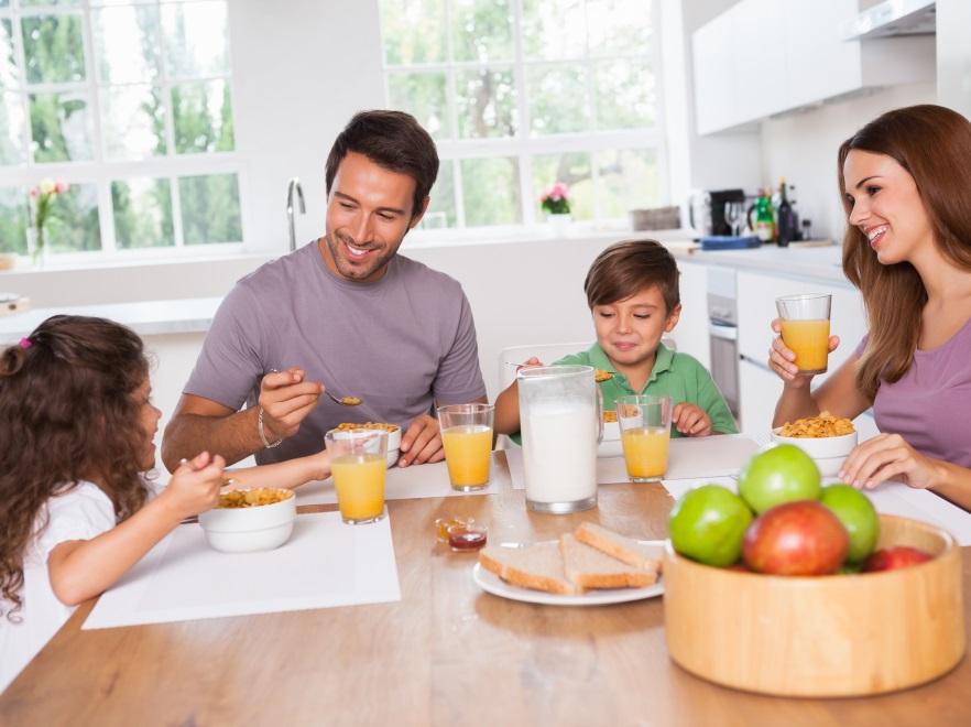 Rodzinne śniadanie