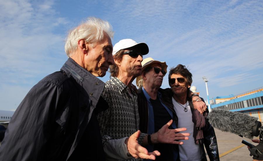 Zespół Rolling Stones przybył na Kubę