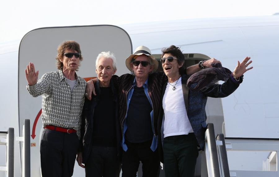 Zespół The Rolling Stones przeleciał na Kubę