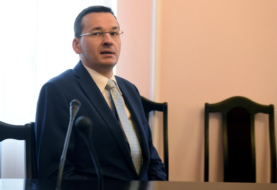 Mateusz Morawiecki na posiedzeniu komisji
