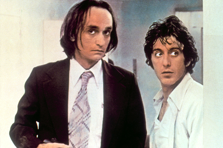John Cazale i Al Pacino w filmie \