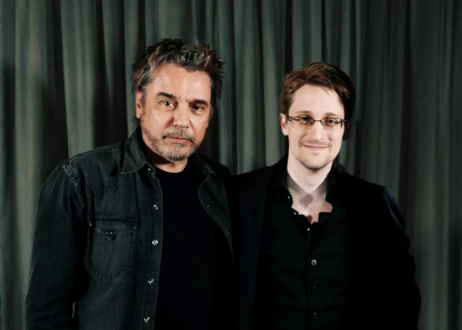 Jean Michel Jarre i Edward Snowden nagrali utwór pod tytułem \