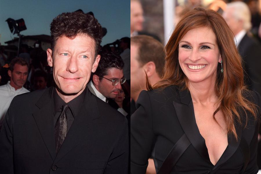 Julia Roberts i Lyle Lovett