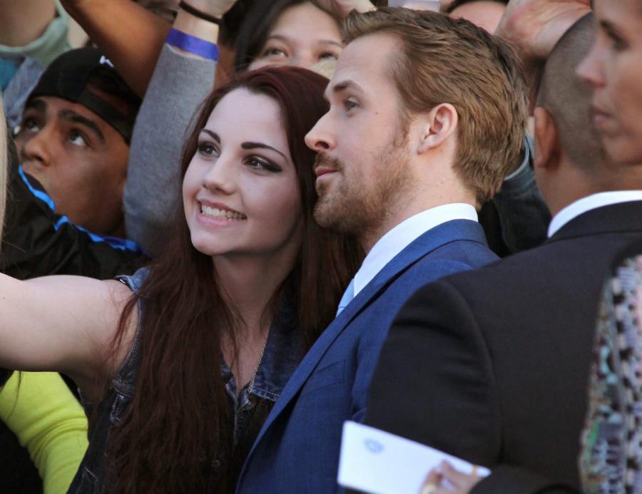 """Ryan Gosling na premierze filmu """"Nice Guys. Równi goście"""""""