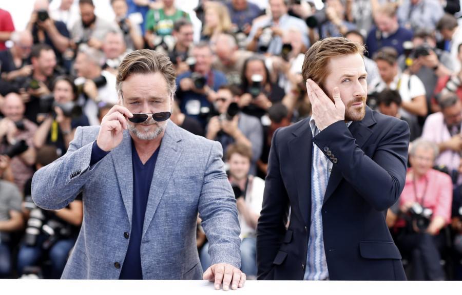 Russell Crowe i Ryan Gosling pokazali swój nowy film w Cannes