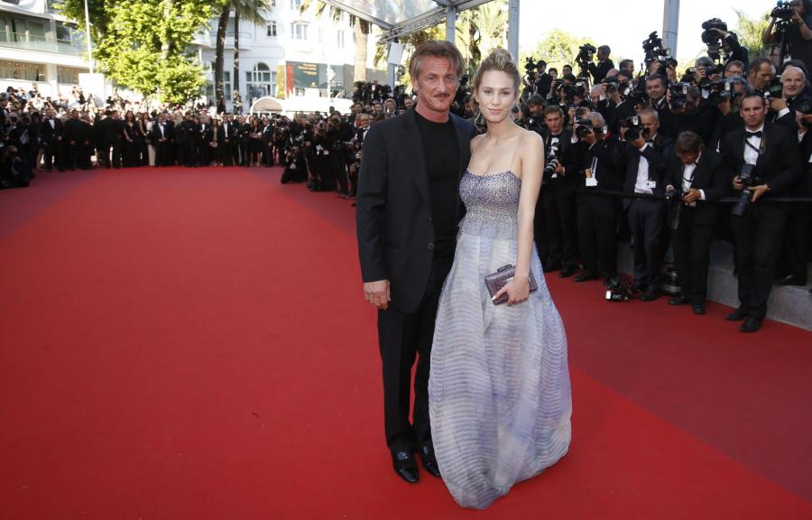 Sean Penn z córką Dylan Frances Penn
