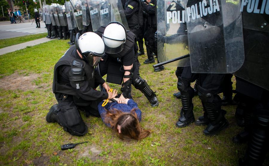 Maria Kołakowska, córka radnej PiS, zatrzymana przez policję