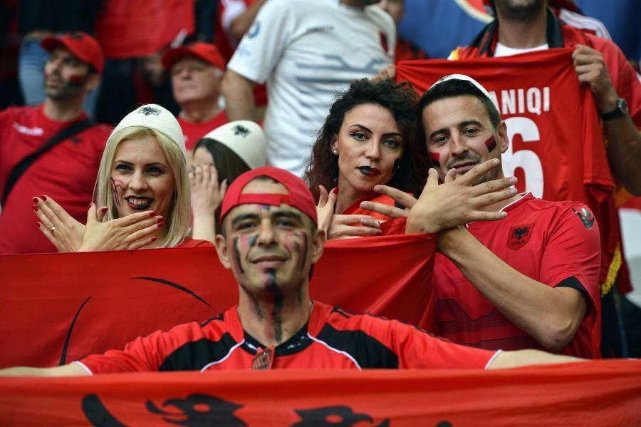 Albania przegrała dwa mecze na Euro 2016. Szanse na awans jeszcze ma