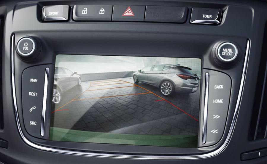 Opel zafira - kamera cofania
