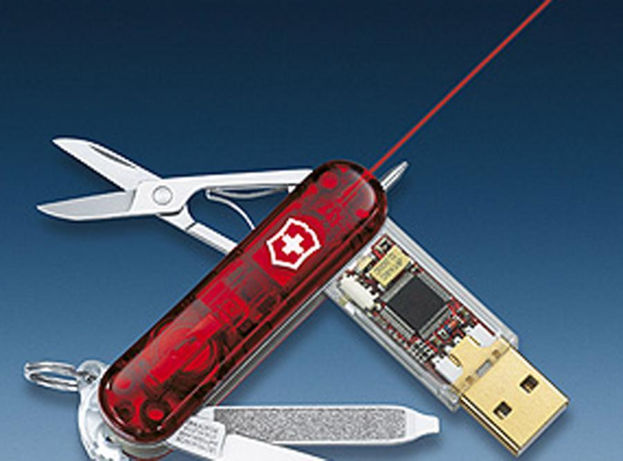 Szwajcarski scyzoryk na USB
