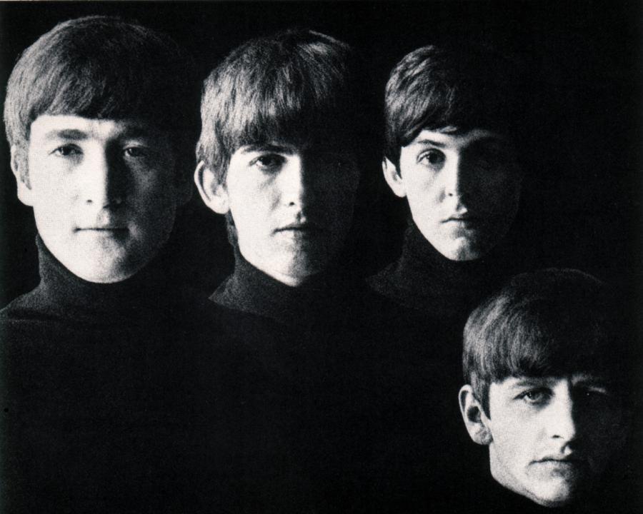 The Beatles z okładki \