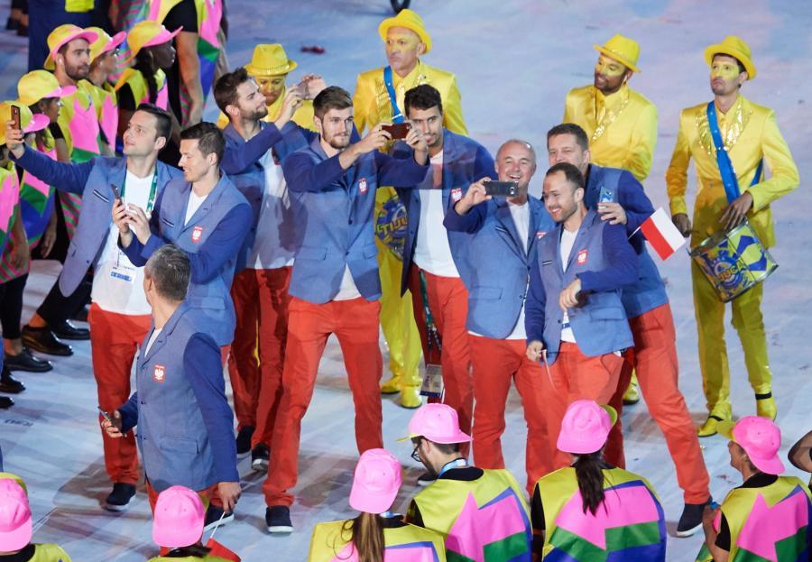 Polscy sportowcy efektownie zaprezentowali się na ceremonii otwarcia igrzysk w Rio de Janeiro